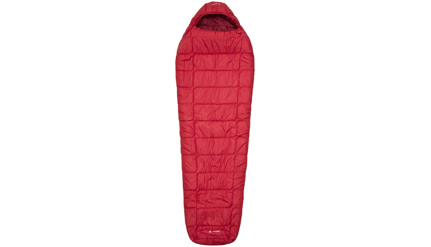 VAUDE Sioux 1000 Syn Sleeping Bag dark indian red